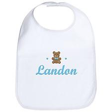 Teddy Bear - Landon Bib
