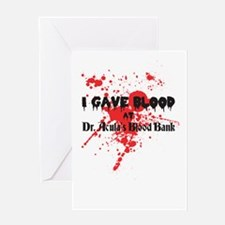 Blood Donor Greeting Card