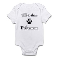 Doberman Talk Infant Bodysuit