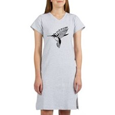Hummingbird Live Fast Women's Nightshirt