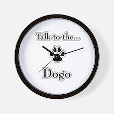 Dogo Talk Wall Clock