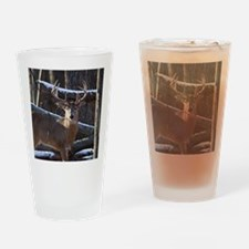 Trophy Whitetail Deer D1342-029 Drinking Glass