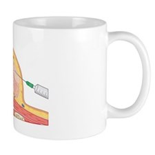 Cross section biomedical illustration o Small Mug