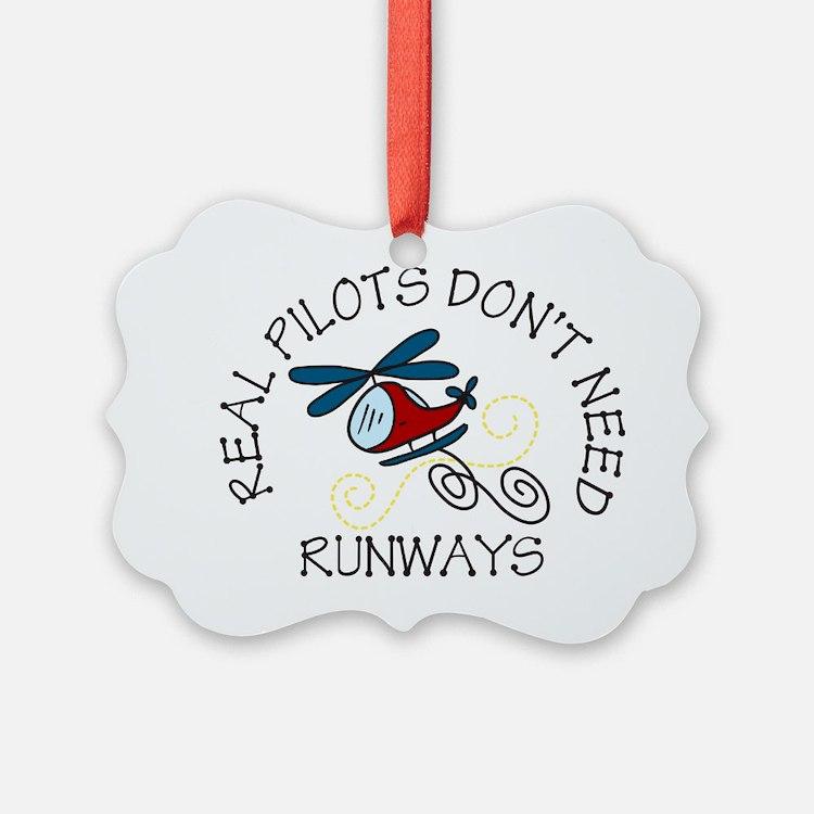 Real Pilots Ornament