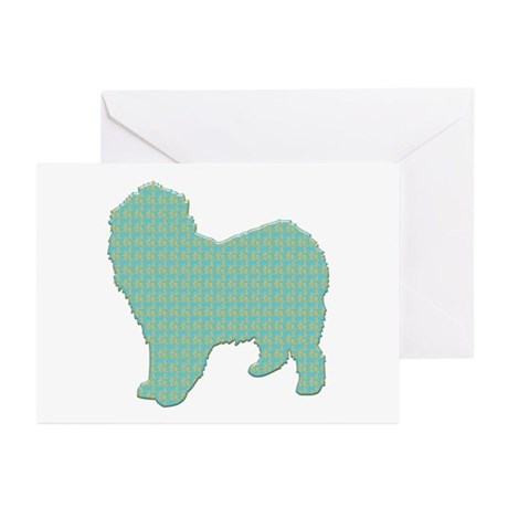Paisley Lagotto Greeting Cards (Pk of 10)