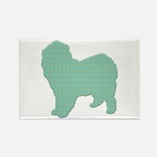 Paisley Lagotto Rectangle Magnet (100 pack)