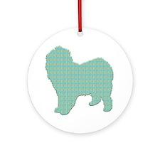 Paisley Lagotto Ornament (Round)