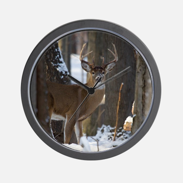 Trophy Whitetail D1316-014 Wall Clock