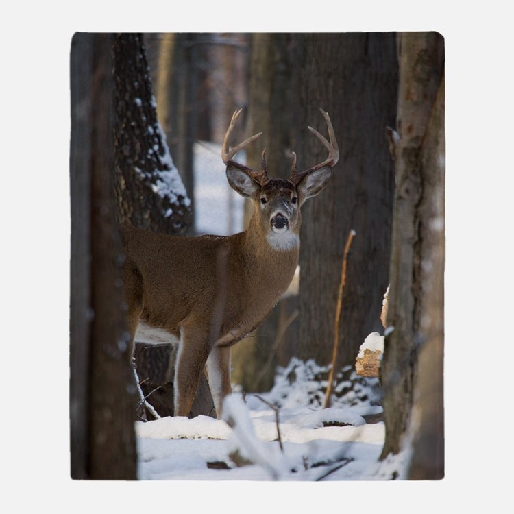 Trophy Whitetail D1316-014 Throw Blanket