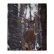 Dominant Buck D1342-025 Throw Blanket