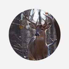 "Dominant Buck D1342-025 3.5"" Button"