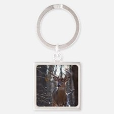Dominant Buck D1342-025 Square Keychain