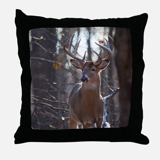 Dominant Buck D1342-025 Throw Pillow