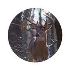 Dominant Buck D1342-025 Round Ornament
