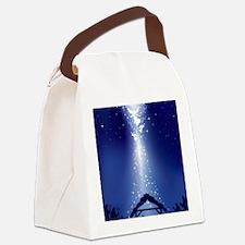 Mary Christmas Canvas Lunch Bag