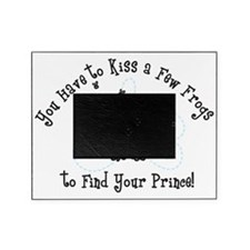 Kiss A Few Frogs Picture Frame