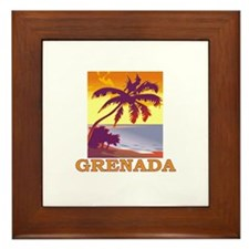 Grenada, Spain Framed Tile