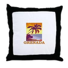 Grenada, Spain Throw Pillow