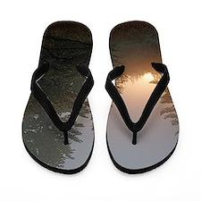 Misty morning Flip Flops