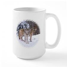 WOLF PAIR Mug