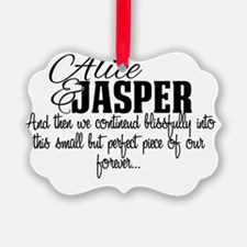 Alice and Jasper Happily Ever Aft Ornament