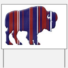 American Bison - Buffalo silhouette Yard Sign