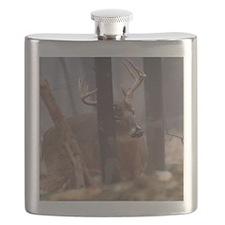 Buck Rub D1314-062 Flask