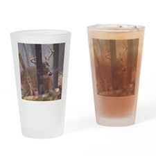 Buck Rub D1314-062 Drinking Glass