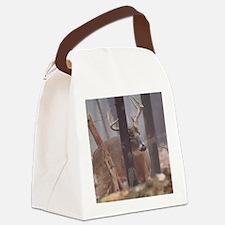 Buck Rub D1314-062 Canvas Lunch Bag