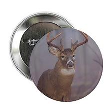 """Buck in Fog D1313-071 2.25"""" Button"""
