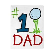 #1 Dad Twin Duvet