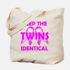 Keep the Twins Identical Tote Bag