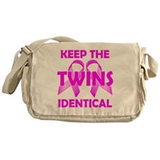 Keep the Twins Identical Messenger Bag