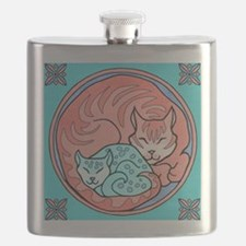 Cuddle Cats Flask