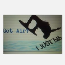 Got Air? I Just Did Postcards (Package of 8)