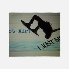 Got Air? I Just Did Throw Blanket