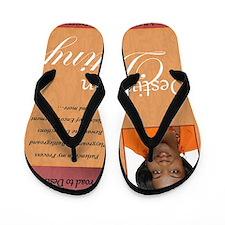 destination destiny Flip Flops
