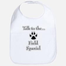Field Spaniel Talk Bib