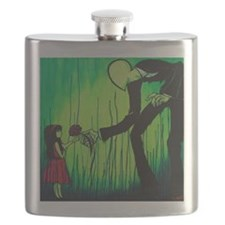 The Slender Man Flask