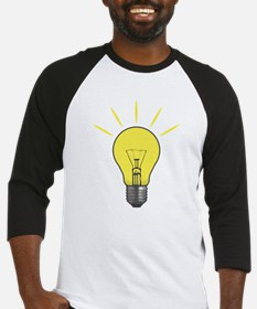 Bright Idea Light Bulb Baseball Jersey