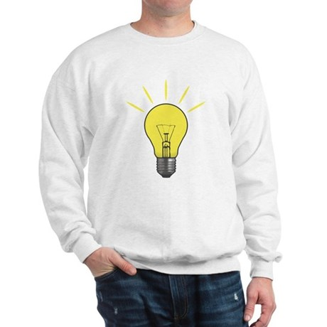 Bright Idea Light Bulb Sweatshirt