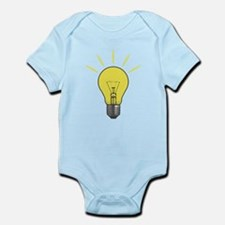 Bright Idea Light Bulb Infant Bodysuit