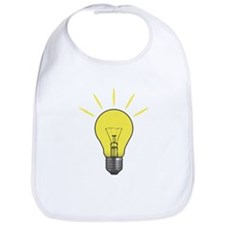 Bright Idea Light Bulb Bib
