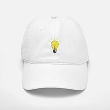 Bright Idea Light Bulb Baseball Baseball Cap