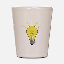 Bright Idea Light Bulb Shot Glass