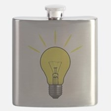 Bright Idea Light Bulb Flask
