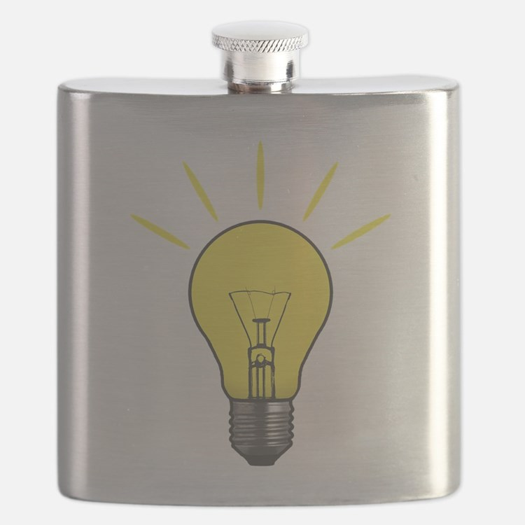 Bright Idea Light Bulb Flask