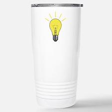 Bright Idea Light Bulb Travel Mug