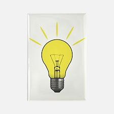 Bright Idea Light Bulb Rectangle Magnet