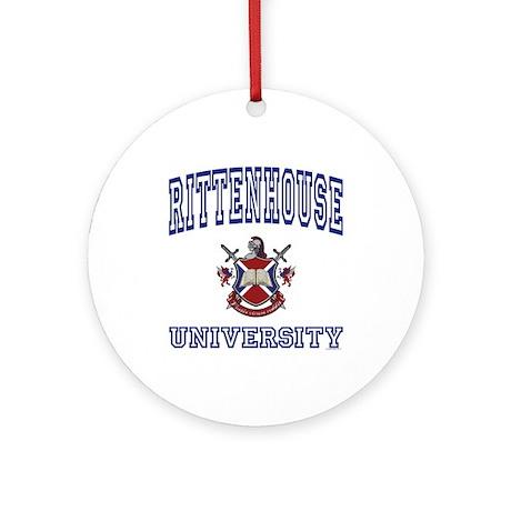 RITTENHOUSE University Ornament (Round)